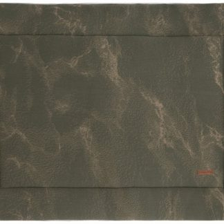 Baby's Only Marble Boxkleed Khaki / Olive 85 x 100 cm