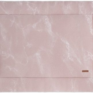 Baby's Only Marble Boxkleed Oudroze / Classic Roze 75 x 95 cm
