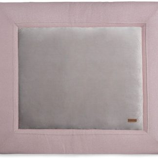 Baby's Only Sparkle Boxkleed Zilver / Roze Mêlee 75 x 95 cm