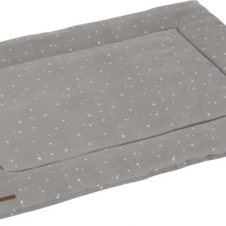 Little Dutch Boxkleed 80 x 100 - little stars grey