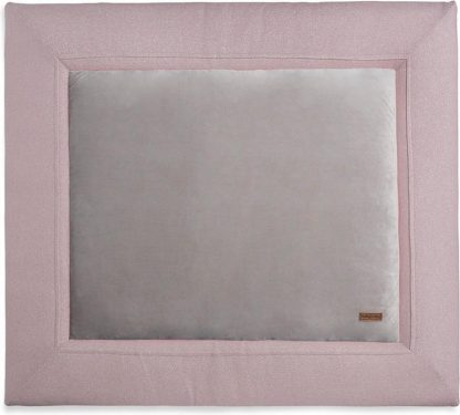 Baby's Only Boxkleed Sparkle Zilver-Roze Mêlee - 75 cm x 95 cm